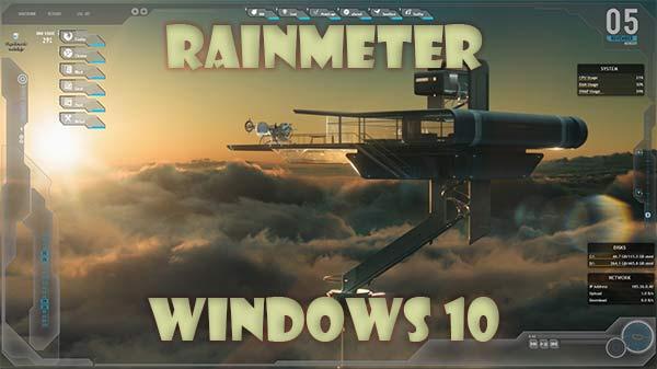 Rainmeter Windows 10