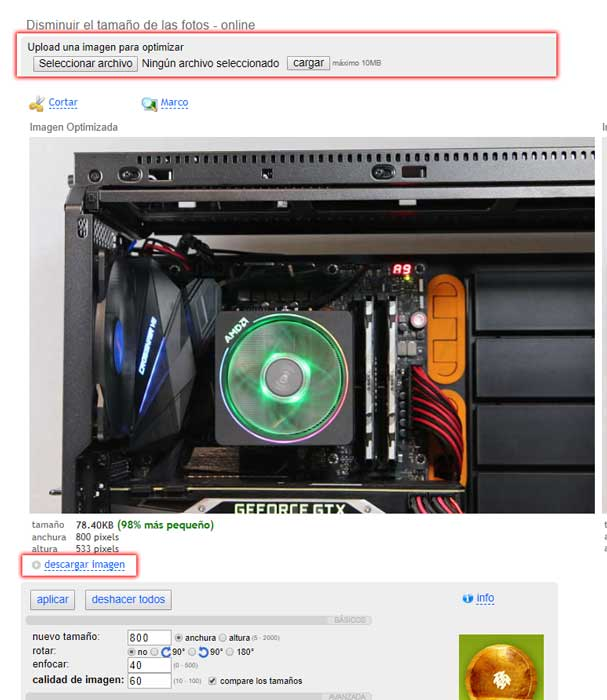 reducir tamaño de foto en Windows 10 paso 07