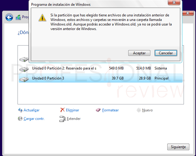 Reinstalar Windows 10 tuto06