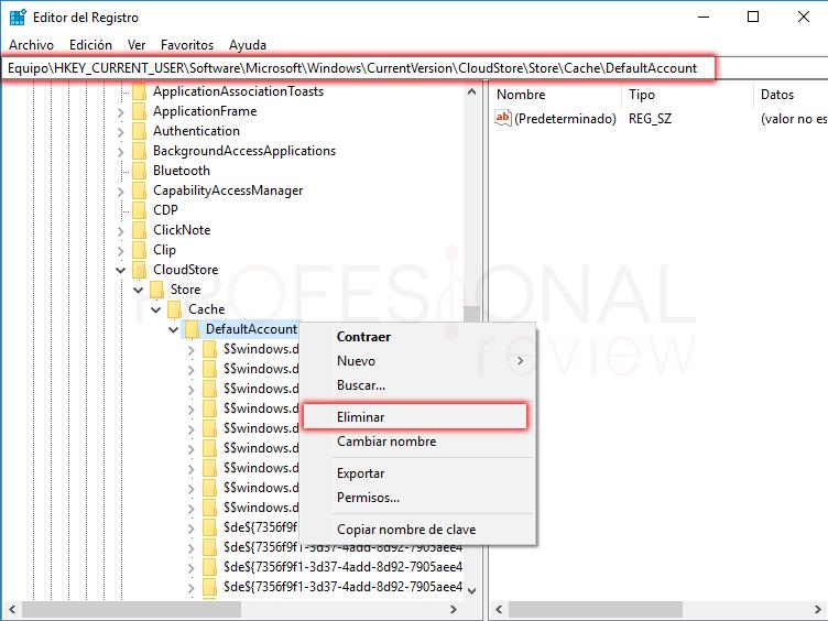 Reparar menú inicio Windows 10 paso 06