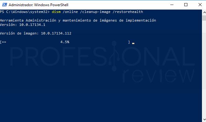 Reparar menú inicio Windows 10 paso 12