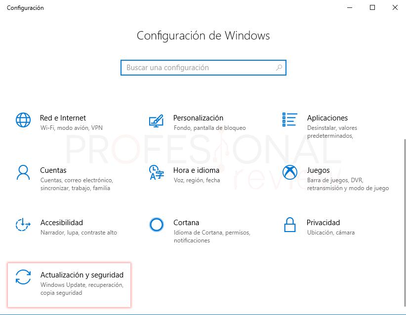 Restaurar de fábrica Windows 10 tuto03