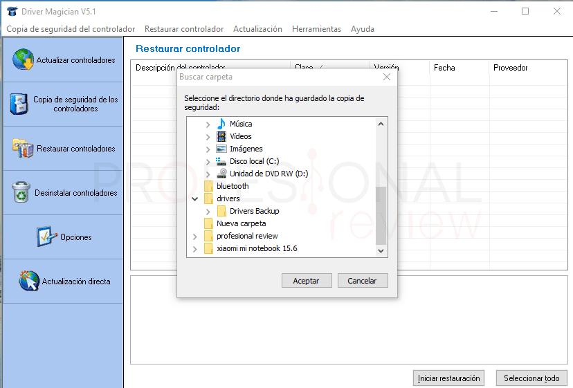 Restaurar de fábrica Windows 10 tuto09