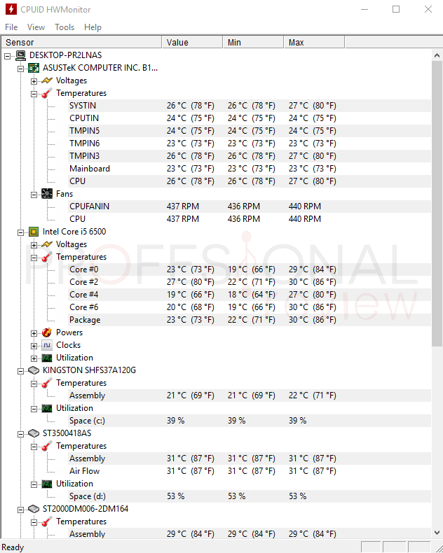 Como saber temperatura de PC tuto06