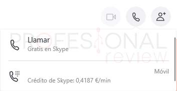 Skype Windows 10 tuto09
