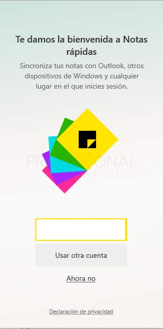 Sticky Notes Windows 10 tuto04