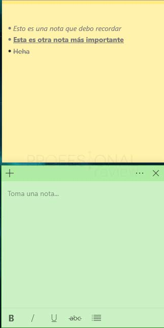 Sticky Notes Windows 10 tuto07