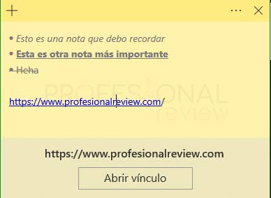 Sticky Notes Windows 10 tuto11
