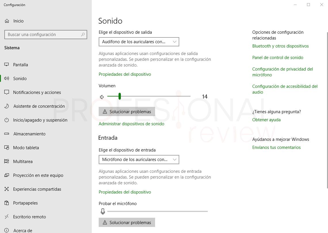 Subir volumen en Windows 10 paso 01