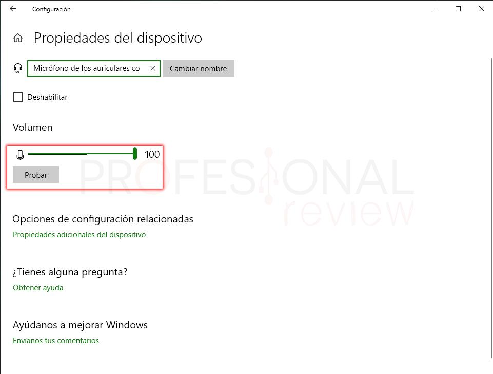 Subir volumen en Windows 10 paso 14