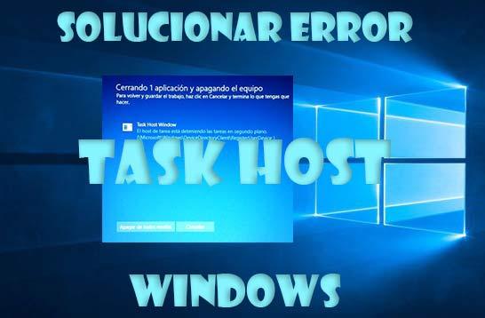 Task Host en Windows