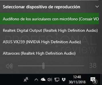 Dos salidas de audio a la vez en Windows 10 paso 02