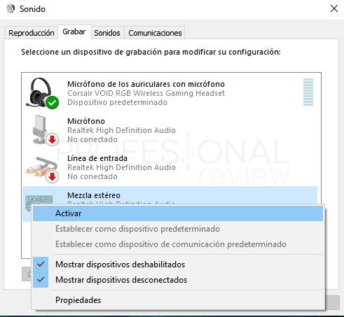Dos salidas de audio a la vez en Windows 10 paso 06