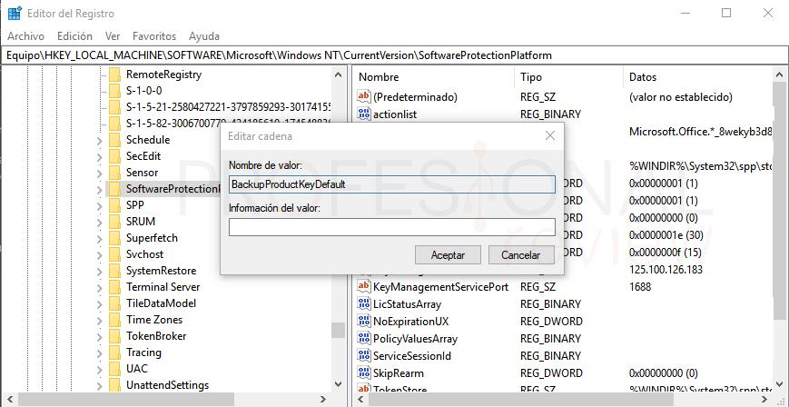 Ver clave Windows 10 tuto02