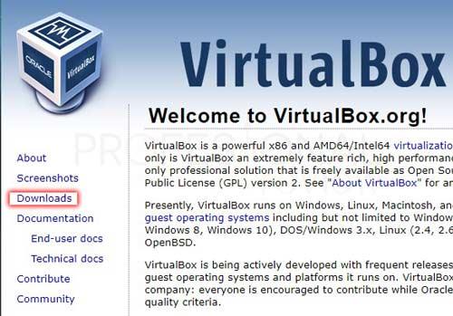 VirtualBox Extension Pack tuto02