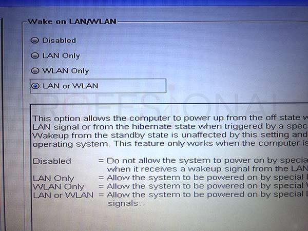 Wake on LAN tuto02