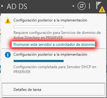 Active Directory en Windows Server 2016 paso 16