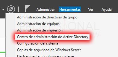 Active Directory en Windows Server 2016 paso 22
