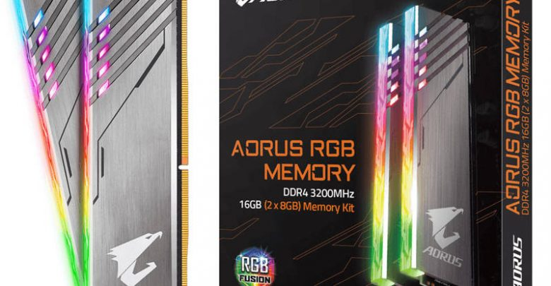 Photo of Gigabyte ya vende las Aorus RGB DDR4-3200 sin módulos falsos