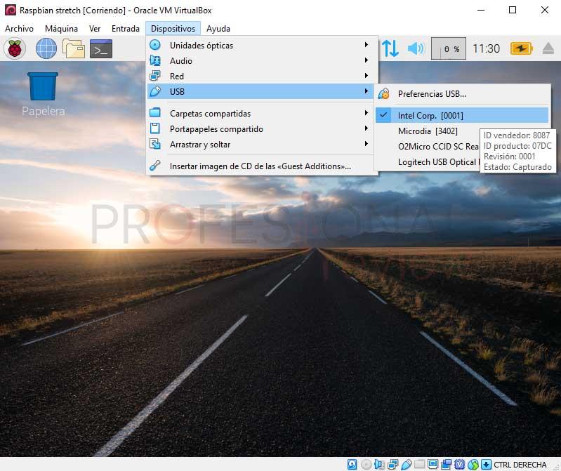 Instalar Raspbian en VirtualBox paso 16