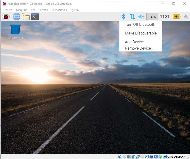 Instalar Raspbian en VirtualBox paso 17