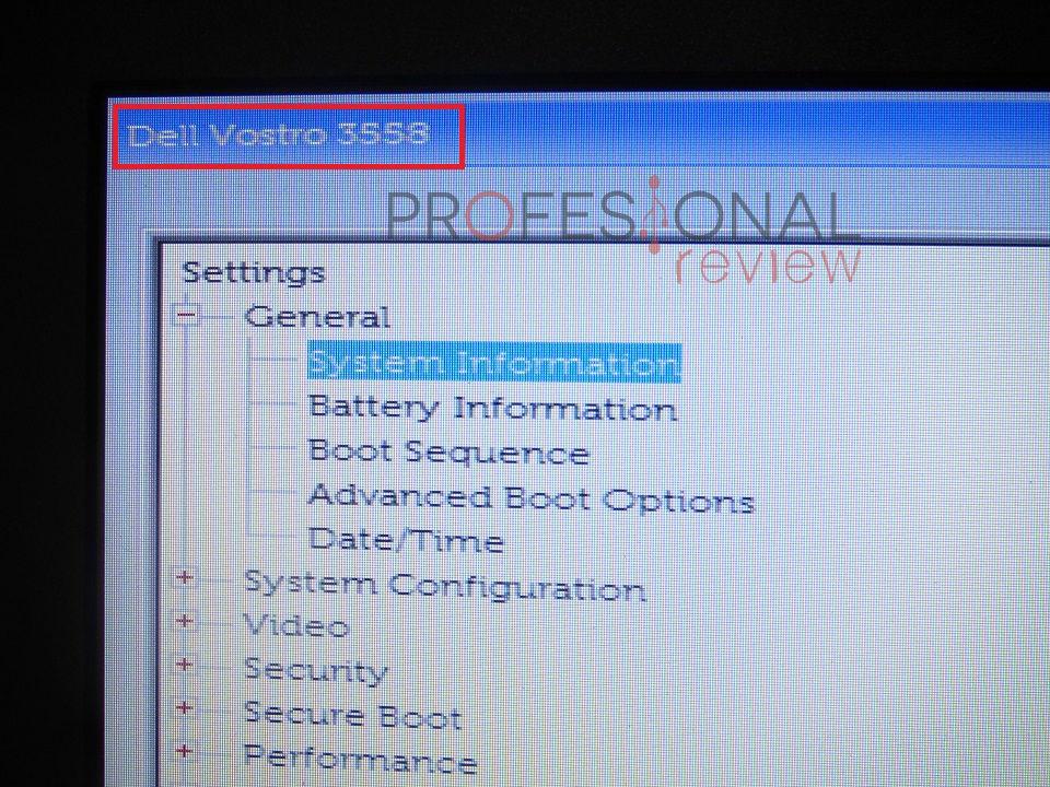 Cómo saber el modelo de mi portatil