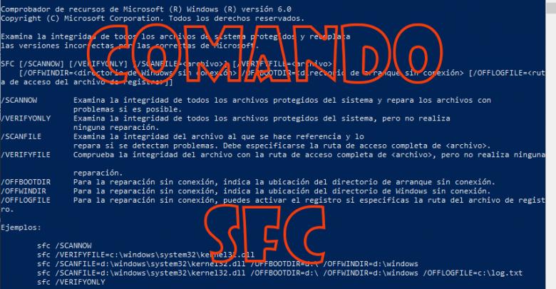 Photo of Comando SFC qué es y para que se puede utilizar