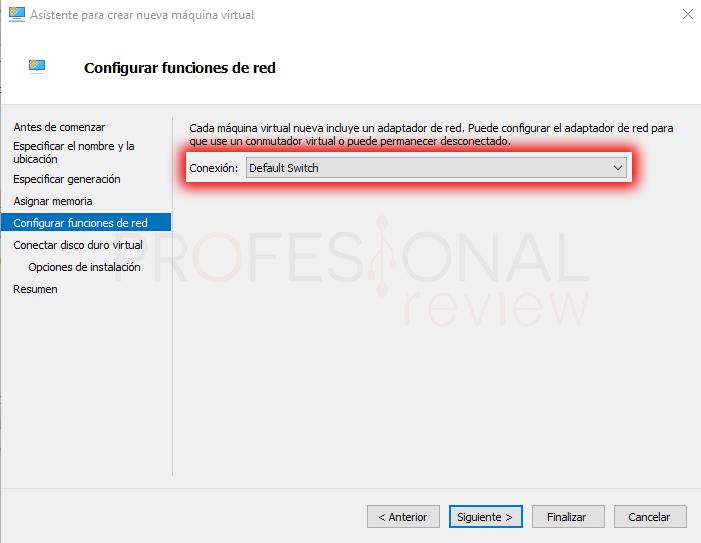 Configurar redes en Hyper-V paso 01