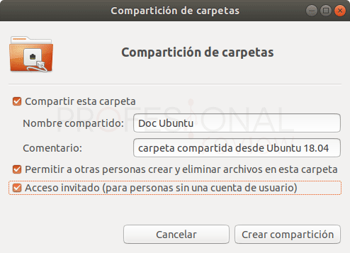 Conectar Ubuntu a red Windows paso 04