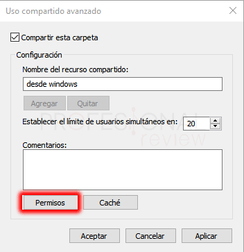 Conectar Ubuntu a red Windows paso 13