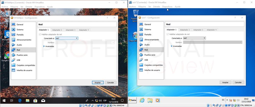 Conectar dos máquinas virtuales en red VirtualBox paso 06