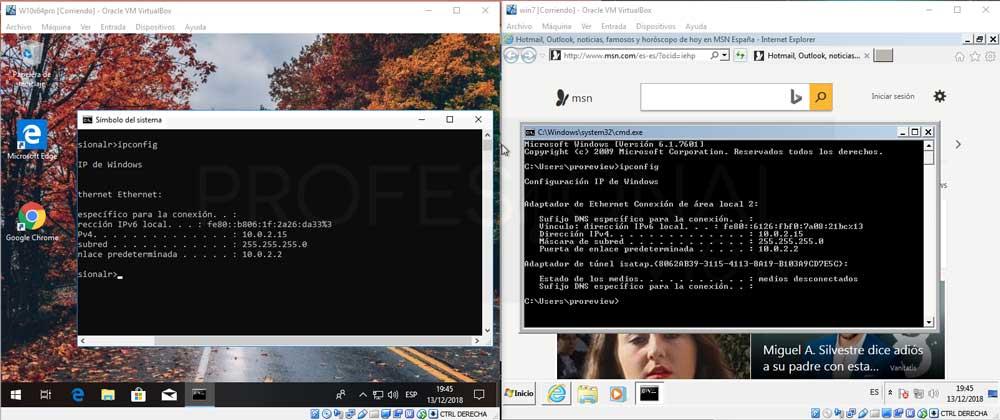 Conectar dos máquinas virtuales en red VirtualBox paso 08