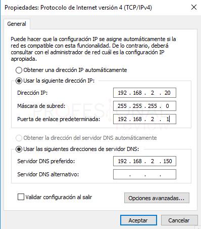 Conectar ordenador a Active Directory paso 03