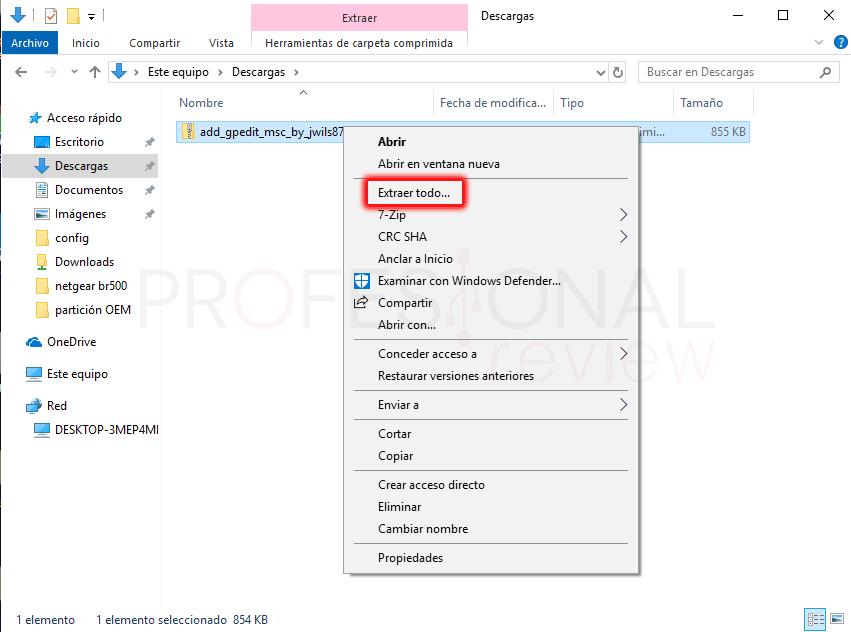 Directiva de grupo desactivar Windows Defender paso 01