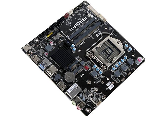 ECS H310CH5-TI con el chipset más sencillo de Intel
