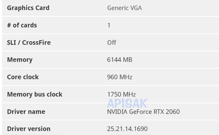 GeForce RTX Mobile