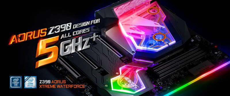 Gigabyte Z390 Aorus Xtreme WaterForce