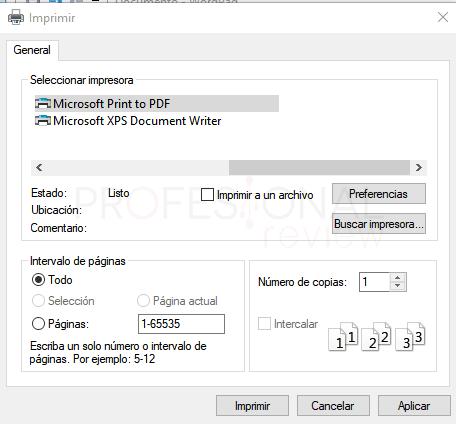 Impresora PDF en Windows 10 paso 06