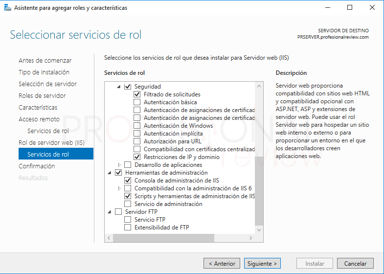Servicio de enrutamiento en Windows Server 2016 paso 6