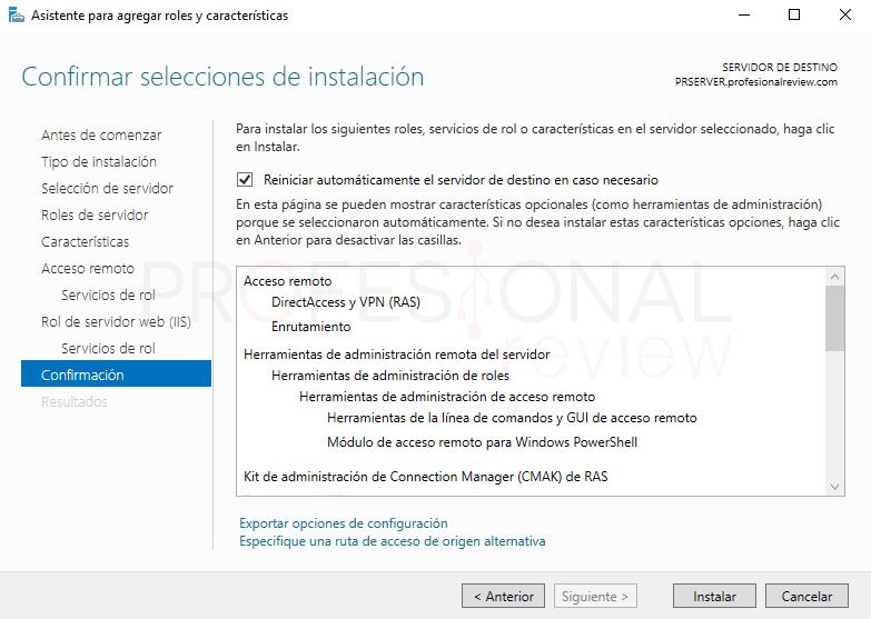 Servicio de enrutamiento en Windows Server 2016 paso 07