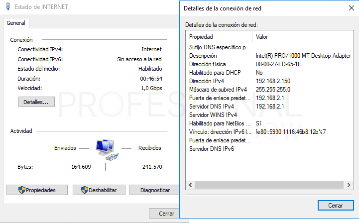 Servicio de enrutamiento en Windows Server 2016 paso 14