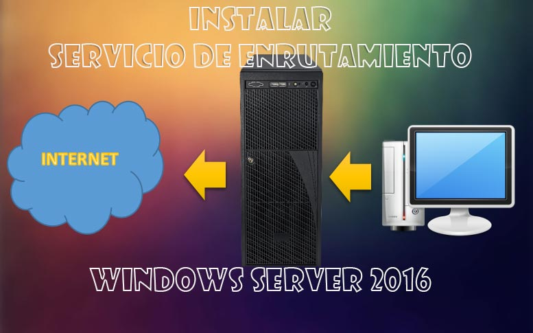 servicio de enrutamiento en Windows Server 2016