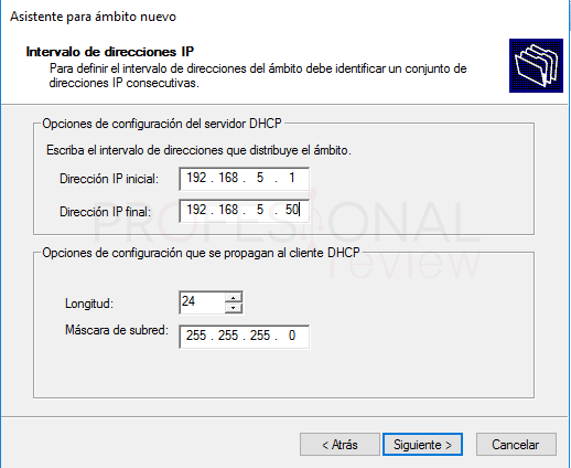 Instalar servidor DHCP en Windows Server 2016 paso 20