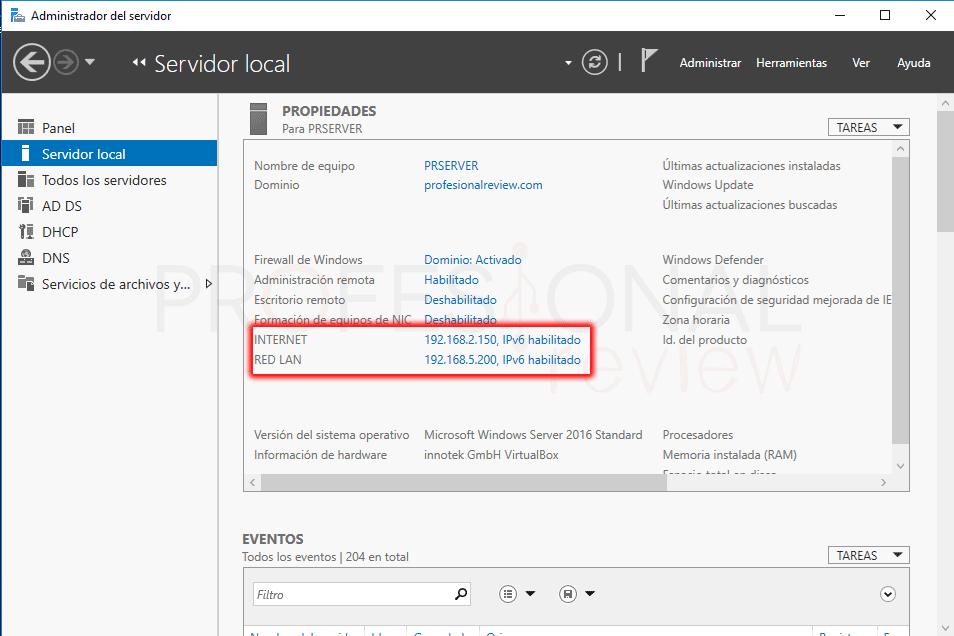 Instalar servidor DHCP en Windows Server 2016 paso 24