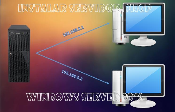 Instalar servidor DHCP en Windows Server 2016