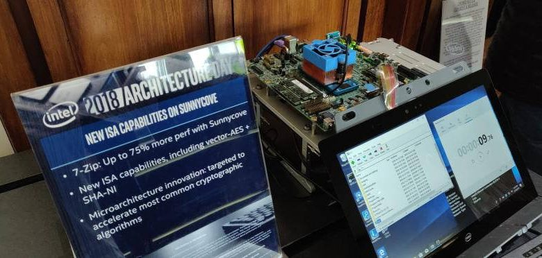 Photo of Intel Sunnycove ofrece mejoras de hasta un 75% en 7-Zip