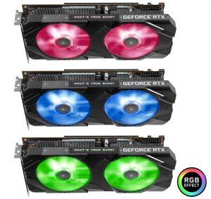 KFA GeForce RTX 2070 EX y RTX 2070 EXOC
