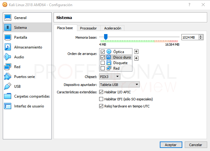 Instalar Kali Linux en VirtualBox paso 04