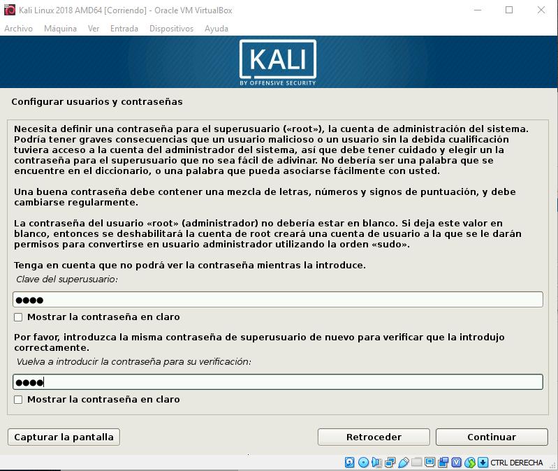 Instalar Kali Linux en VirtualBox paso 12