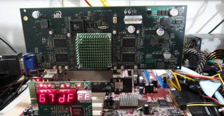 Photo of La inedita GPU 3dfx Rampage ejecutando Max Payne y Unreal